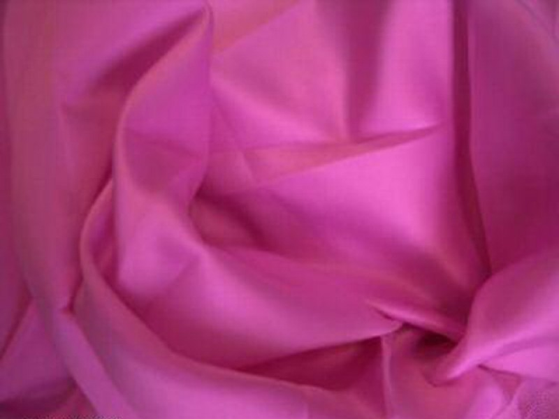 Satin pink Meterware