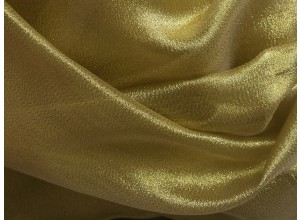 Metallic Crystal Organza gold